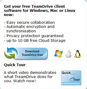 TeamDrive - Sync your data fast and secure  TeamDrive