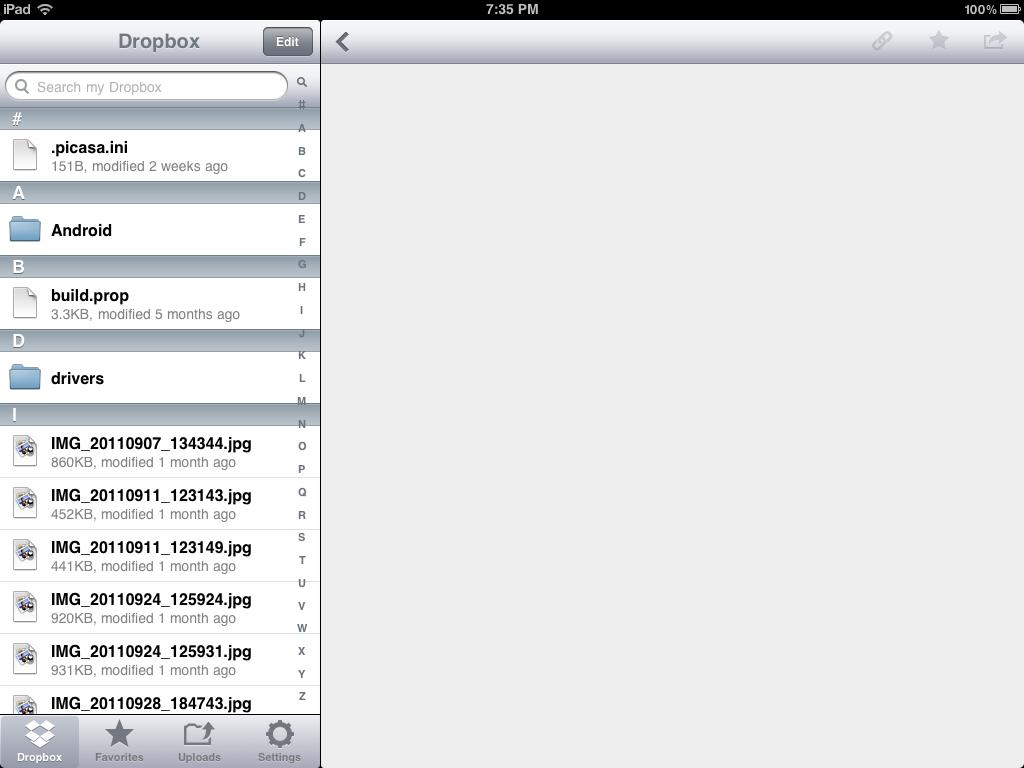free ipad app for dropbox sync